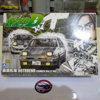 Aoshima 1/24 Model Kit 86 Trueno Initial D