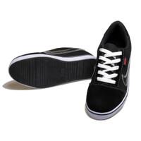 sepatu sneakers anak laki laki black nike / sepatu sekolah anak SGA