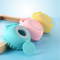 Gosokan Alat Sikat Mandi Refill Sabun Bath Shower Bahan Silikon Lembut