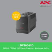 APC LSW500-IND 500VA AVR / Stabilizer / Stavol + Surge Protector