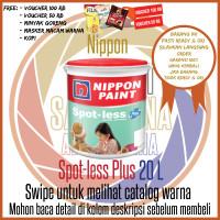 Nippon Spotless Plus Brilliant White 20 L / Warna / Cat Anti Noda