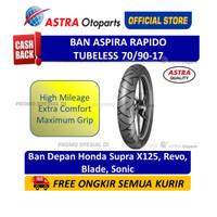Aspira Maxio Rapido 70/90-17 Tubeless Ban Motor (12-70/9017-RAPIDO)
