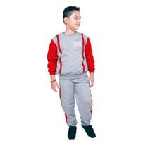 baju stelan olah raga anak laki laki / baju training usia 4-6-8-10 thn