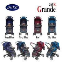 Dorongan Bayi Ayun Kereta Bayi Pliko Grande 268 Bisa Ayun Ada Mainan