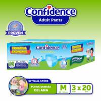 Confidence Popok Celana Medium Flow E-Pack M 60