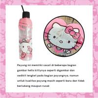 Payung Lipat Transparant Doraemon Hello Kitty / Folded Umbrella
