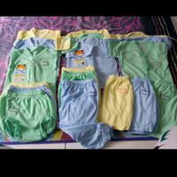 Paket 18pcs Baju Bayi Baru Lahir Laki Perempuan unisex Excellent 77