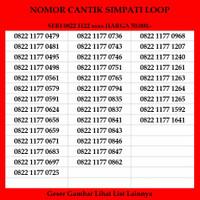 Nomor Cantik Simpati Loop Telkomsel 4G LTE Kartu Perdana ABAB Murah