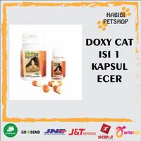 doxycat im organic ecer / tablet doxy cat obat flu kucing antibiotik