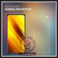 XIAOMI POCO X3 NFC NILLKIN ANTI GORES ORIGINAL MATTE SCRATCH POCOPHONE