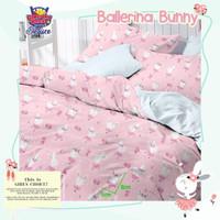 Sprei katun Homemade karakter 90x200 //160x200/180x200/ ballery bunny