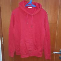 Jaket Hoodie Sweater Kaos Baju Lengan Panjang Uniqlo Original GU Red
