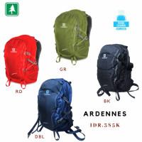 Tas Ransel Daypack Consina Ardennes 30L Black + Cover Ardenes Ardeness