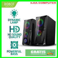 Speaker Aktif ROBOT RS200 Stereo Gaming 3.5mm