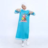gamis anak / baju muslim anak perempuan / gamis anak karakter / salur - 3-4 tahun