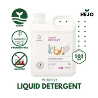 Pureco - Liquid Detergent 900 ml Baby Safe Sabun Cuci Baju Bayi