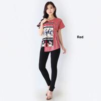 Blouse Jumbo Batik Modern Wanita Baju Blus Murah Bigsize Big Size Cewe
