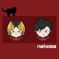 Haikyuu popsocket acrylic - Nekoma Edition