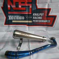knalpot Arrow leheran biru bluemon aerox nmax Vario PCX ADV BEAT MIO