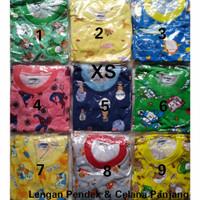Piyama Bayi Anak Size XS Lengan Pendek Celana Panjang by Gerry Kids