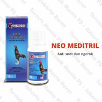 Obat Ayam Adu/Kampung Neo Meditril Laga 15 Ml JakBar