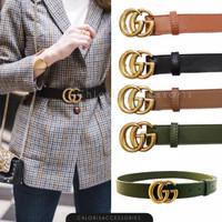 Ban Pinggang Belt Branded Fashion Wanita PREMIUM 072 - Hijau