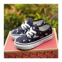 sepatu anak terlaris Vans Authenthic Navy kids size 20-35 - 24