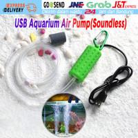 USB Aerator Portable Pompa Udara Aquarium Mini Air Pump Mancing DC