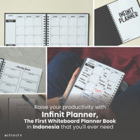 Infinit Planner   Whiteboard Planner Book, Planner, Agenda, Erasable B