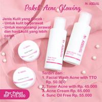 Paket Acne Glowing Asderma