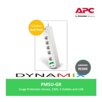 APC PM5U-GR PM5UGR Surge Protector • Filter Listrik & Anti Petir