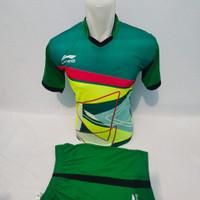 Baju Kaos Jersey Olahraga Pria/Wanita Sepakbola Futsal Volly Badminton - Tosca, M