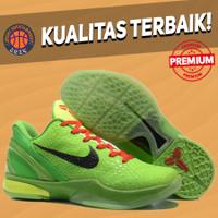 (SIZE ANAK 36-39) Sepatu Basket Sneakers Nike Kobe 6 Protro Grinch