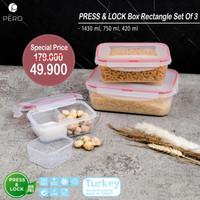 PERO PRESS & LOCK BOX RECTANGLE 3