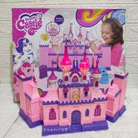Dream Castle Playset Little Poni Light Sound - Mainan Istana Barbie