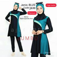 baju renang jumbo- big size-baju renang muslim dewasa-wanita muslimah