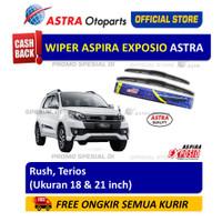Wiper Blade Hybrid Graphite ASPIRA EXPOSIO:Toyota Rush,Daihatsu Terios
