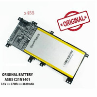 Baterai original Asus A455 A455L A455LA A455LB A455LC X455L A455LN