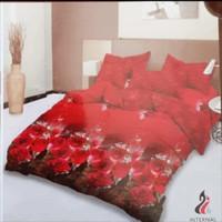 bed cover lady rose sprei karet no 2 uk 160x200 motif aurelia