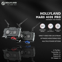 Hollyland Mars 400S Pro SDI/HDMI Wireless Video Receiver