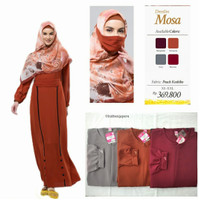 Rabbani Dresslim Mosa Gamis Baju Muslim Wanita