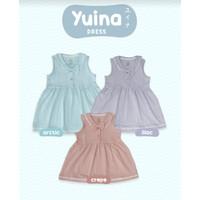 Bamboo and Bub Yuina Dress - Baju Anak Bayi Balita Sailor Lucu Girl