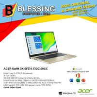ACER Swift 3X SF314 510G 50CC Ci5 1135G7 16GB 512GB W10 & OHS