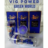 Vigpower capsule GREEN WORLD ~ 6 kapsule kemasan lama ASLI 100%
