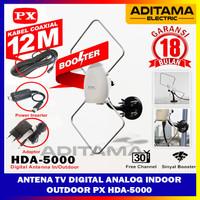 ANTENA TV DIGITAL INDOOR OUTDOOR PX HDA-5000/ANTENA TV PX HDA 5000 ORI