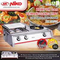 Niko NK GRS21 Kompor Gas Pemanggang 2in1 original