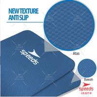 Matras Yoga Mat Karpet Yoga Gym Senam SPEEDS TEBAL 10mm+FREE TAS
