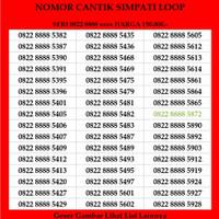 Nomor Cantik Telkomsel tripel Simpati Loop Nomer Kartu Perdana 3G 4G