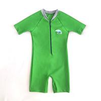 Lee Vierra Avery Diving Basic Kids Swimwear Baju Renang Anak - Hijau