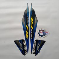 Stiker Motor Honda Revo Fit 2017 Biru